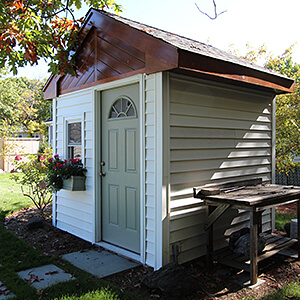 Garden shed in Paramus